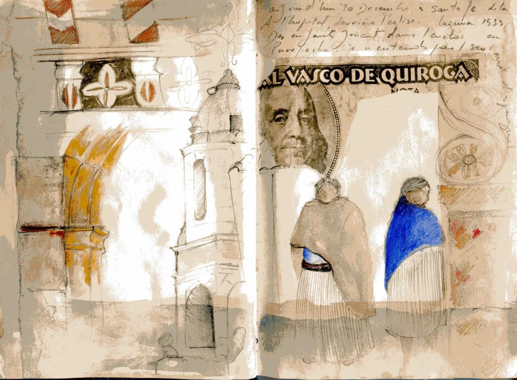 Sketch por Marie Le Glatin-Keis