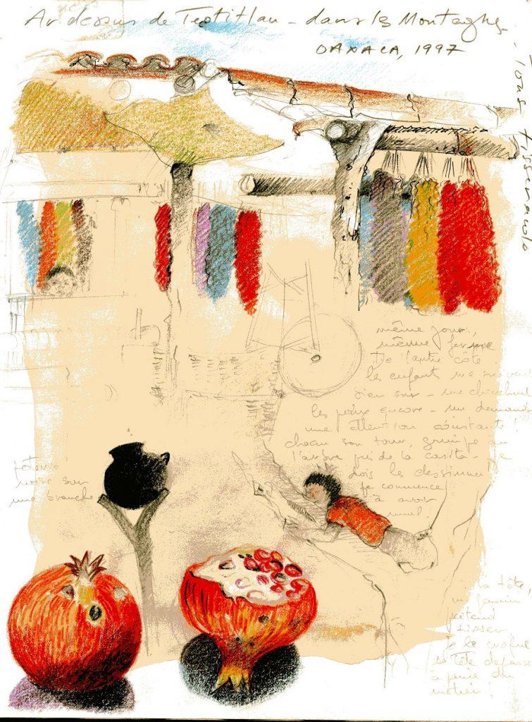 Sketch de Marie Le Glatin Keis